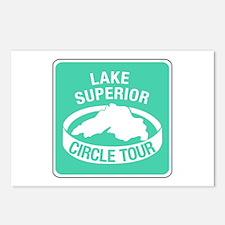 Lake Superior Circle Tour, Minnesota Postcards (Pa