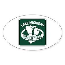 Lake Michigan Circle Tour, Wisconsin Decal