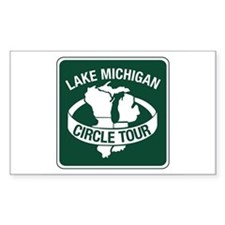 Lake Michigan Circle Tour, Wisconsin Decal