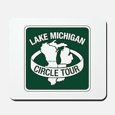 Lake Michigan Circle Tour, Wisconsin Mousepad