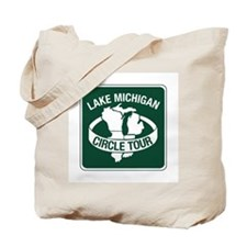 Lake Michigan Circle Tour, Wisconsin Tote Bag