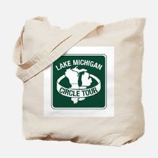 Lake Michigan Circle Tour, Wisconsin Tote Bag
