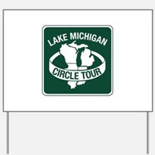 Lake Michigan Circle Tour, Wisconsin Yard Sign