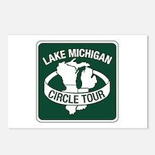 Lake Michigan Circle Tour, Wisconsin Postcards (Pa