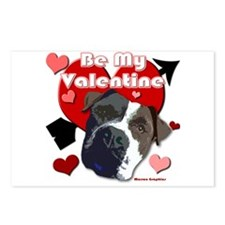 Valentines day cards Postcards (Package of 8)