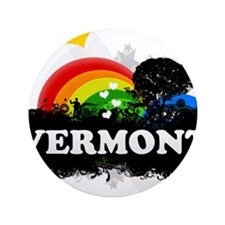 """Sweet Fruity Vermont 3.5"""" Button"""