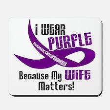 I Wear Purple For My Wife 33 PC Mousepad
