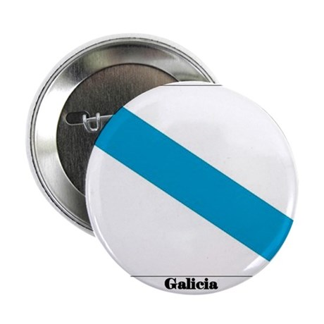 """Galicia Flag 2.25"""" Button (10 pack)"""