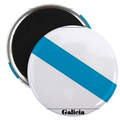 "Galicia Flag 2.25"" Magnet (100 pack)"