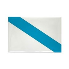 Galicia Flag Rectangle Magnet