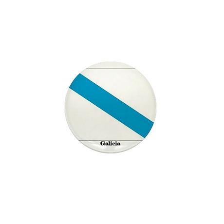 Galicia Flag Mini Button (100 pack)