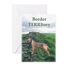 Border TERRItory Greeting Cards (Pk of 10)