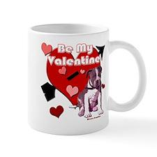 Valentines Day Pit Bull Pup Mug