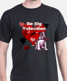 Valentines Day Pit Bull Pup T-Shirt
