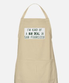 Big deal in San Francisco BBQ Apron