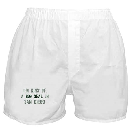 Big deal in San Diego Boxer Shorts
