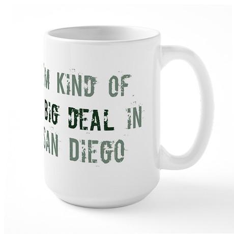 Big deal in San Diego Large Mug