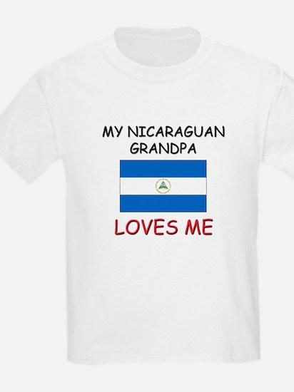My Nicaraguan Grandpa Loves Me T-Shirt