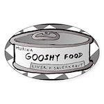 Gooshy Oval Sticker