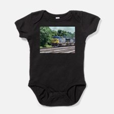 CSX Q190 Doublestack Train Infant Creeper Body Sui