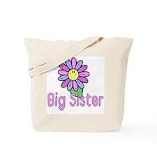 Big Sister Flower Tote Bag
