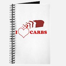 I Heart Carbs Journal