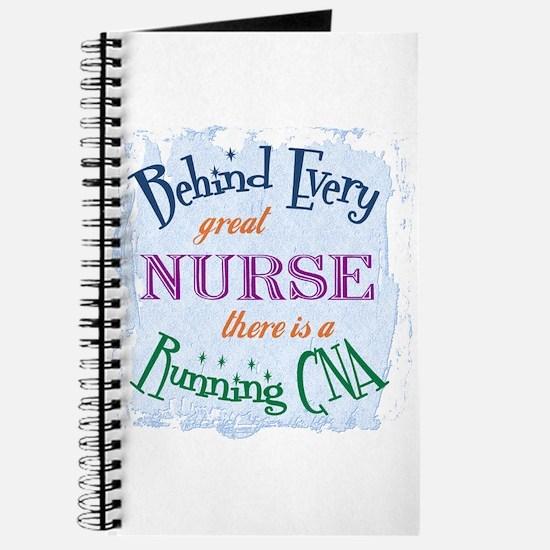 Behind Nurse, Running CNA Journal