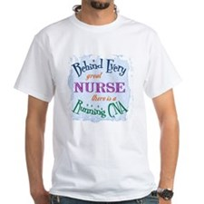 Behind Nurse, Running CNA Shirt