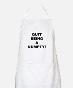 Quit Being A Numpty! BBQ Apron