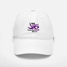 I Wear Purple For My Husband 33 PC Baseball Baseball Cap