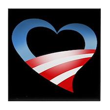 Heart Logo Tile Coaster