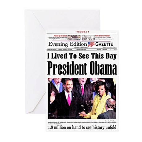 Inauguration Greeting Cards (Pk of 10)