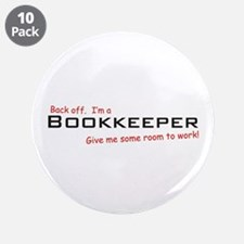 "I'm a Bookkeeper 3.5"" Button (10 pack)"