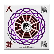 Yin Yang Pa Kua - Tile Coaster