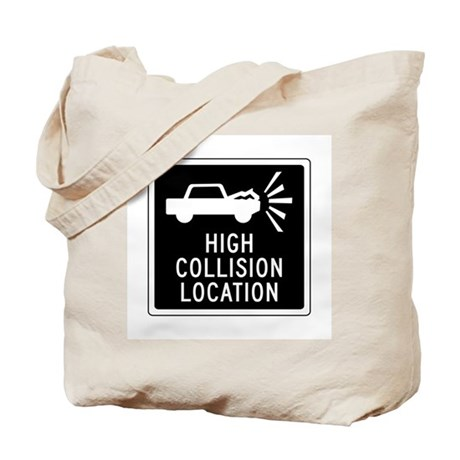 High Collision Location, Canada Tote Bag