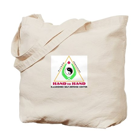 Hand To Hand Classic Logo Tote Bag