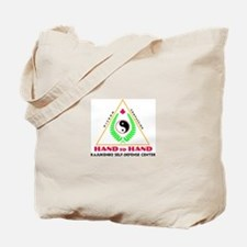 Hand To Hand Classic Logo Tote Bag
