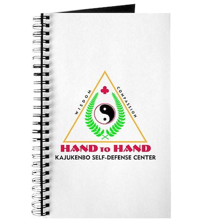 Hand To Hand Classic Logo Journal