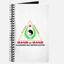 Hand To Hand Classic Logo Journal