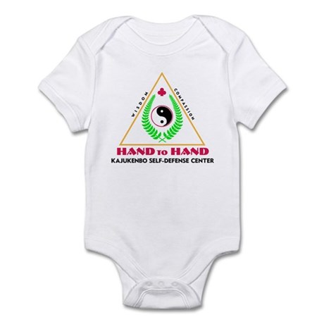 Hand To Hand Classic Logo Infant Bodysuit