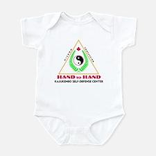 Hand To Hand Classic Logo Infant Bodysuit