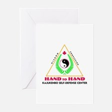 Hand To Hand Classic Logo Greeting Cards (Pk of 10
