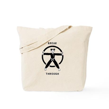 Break Through Tote Bag