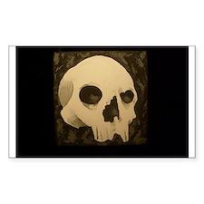 Samhain Skull Rectangle Decal