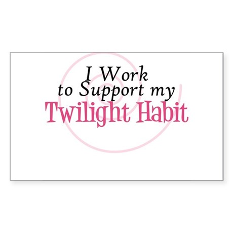 Twilight Addiction Rectangle Sticker