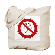 No Dogs Allowed, France Tote Bag