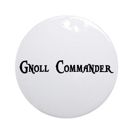Gnoll Commander Ornament (Round)