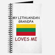 My Lithuanian Grandpa Loves Me Journal