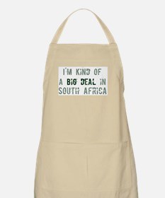 Big deal in South Africa BBQ Apron
