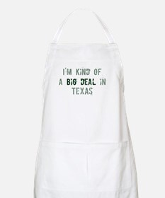 Big deal in Texas BBQ Apron